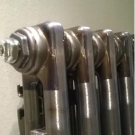 Стальной трубчатый радиатор  Zehnder Charleston 3057, боковое подключение, Tehnoline